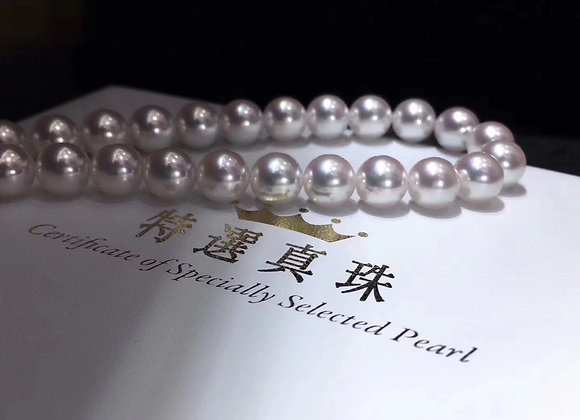 7.5-8mm特選真珠PEPCA Specially Selected Pearl Akoya Necklace
