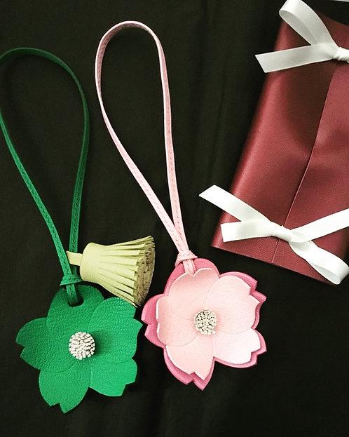 Mono Sakura Charm with Tassel