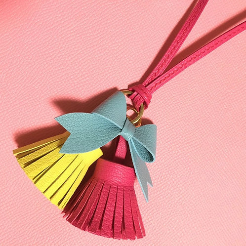 Tassel and Bow Charm