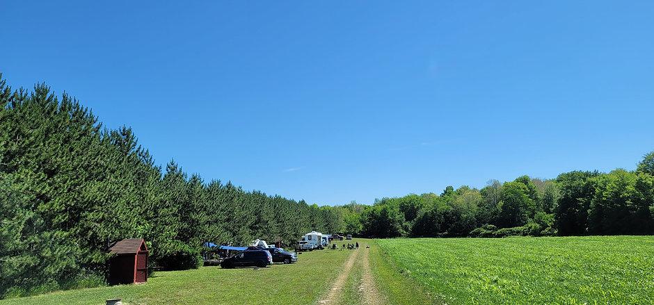 Back To Nature Camping at Horsin Around