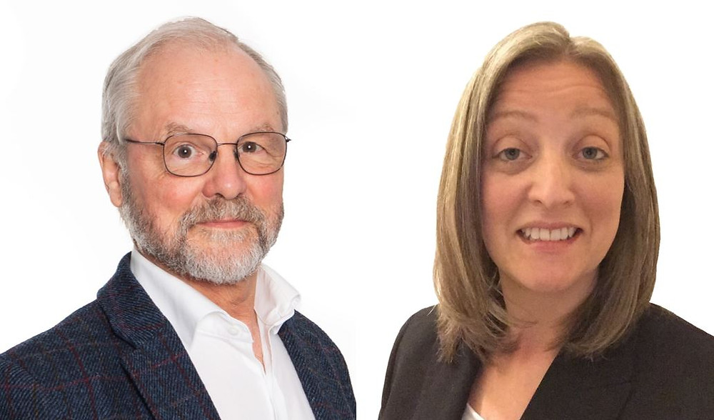 New CSO, Prof Dr Mike Parnham & New CMO, Dr Ginny Norris