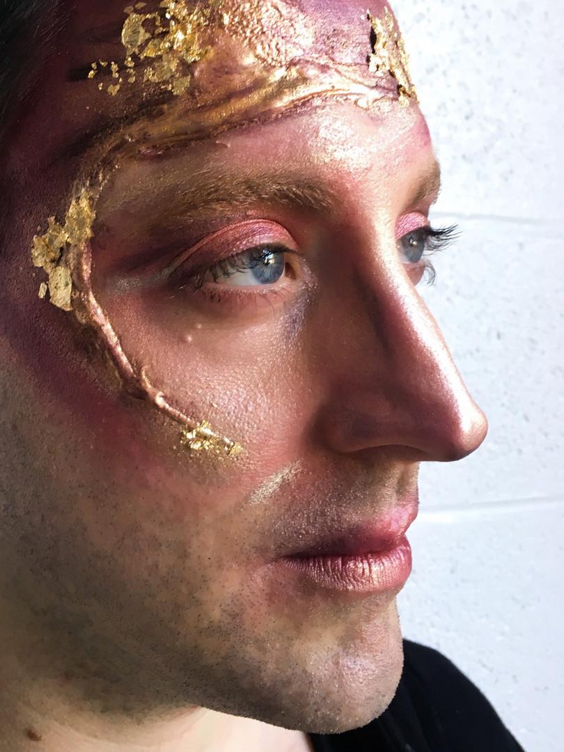 Gold Leaf & Silicone