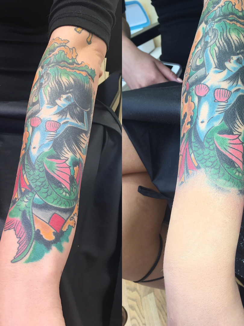 Partial Tattoo Cover