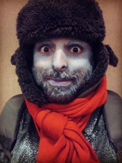"""""""Fellow Who Froze"""" -Navy Pier Winter Wonderfest"""
