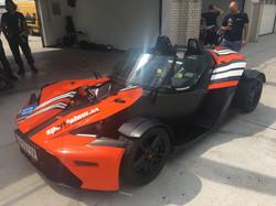 Autobeschriftung - KTM X-Bow GT