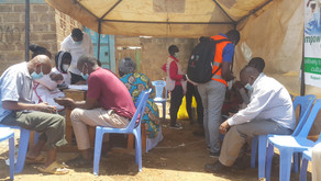 Kibera Slums Community Vaccination Day 2