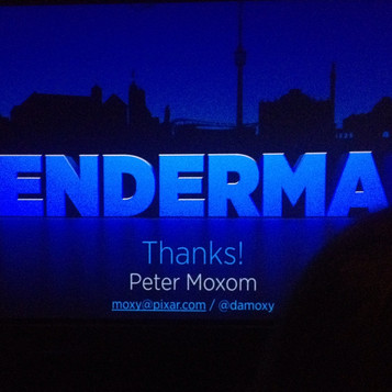 Renderman 20 presentation - Peter Moxom