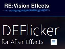 De-flickering animations