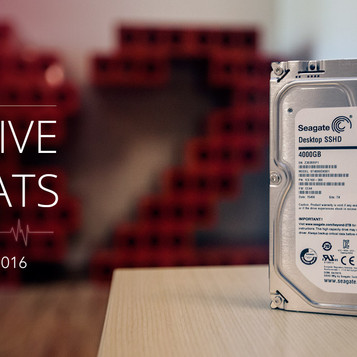 Backblaze drive statistics - Q2 2016