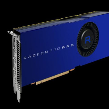 AMD - GPU's equipped with SSD's for massive buffers
