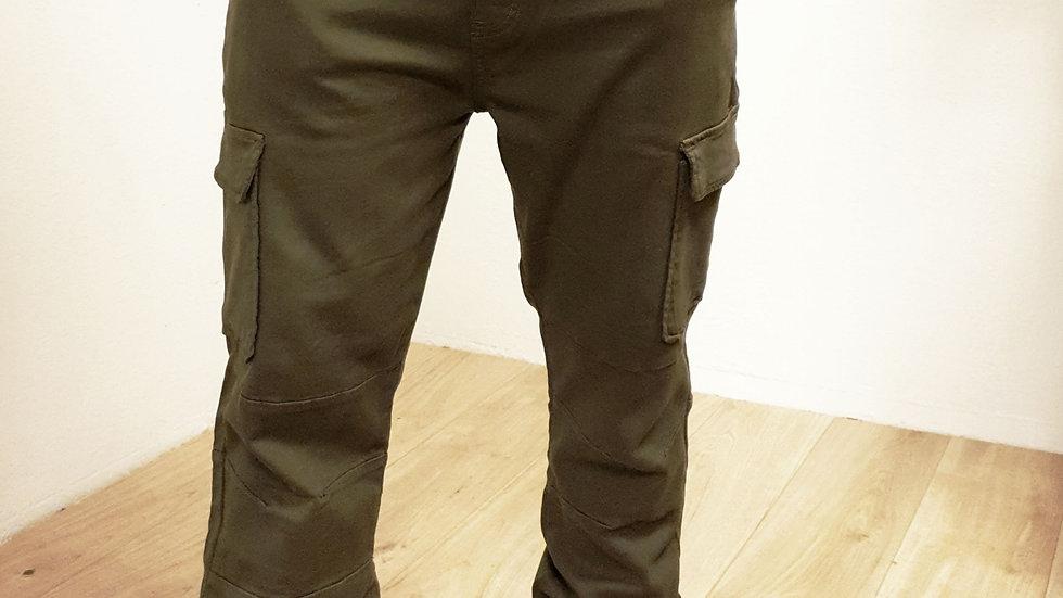 Pantalon cargo GSTAV kaki
