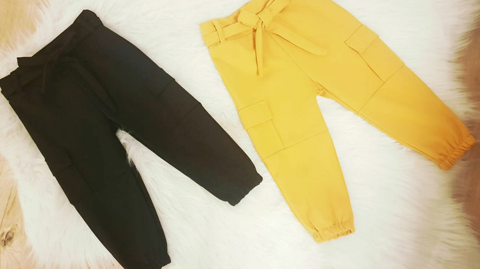 Pantalon cargo fille