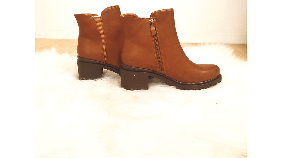 Bottines serena brown