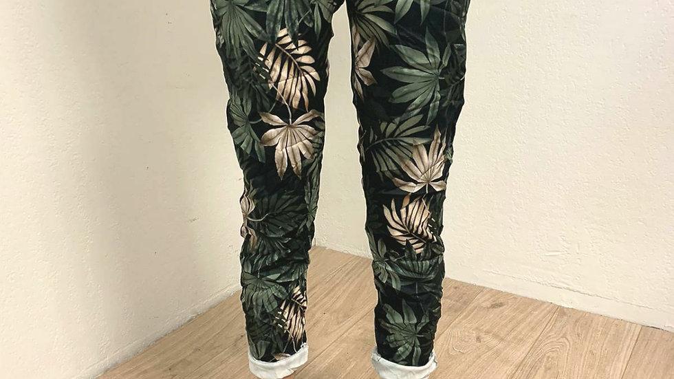 Pantalon floral