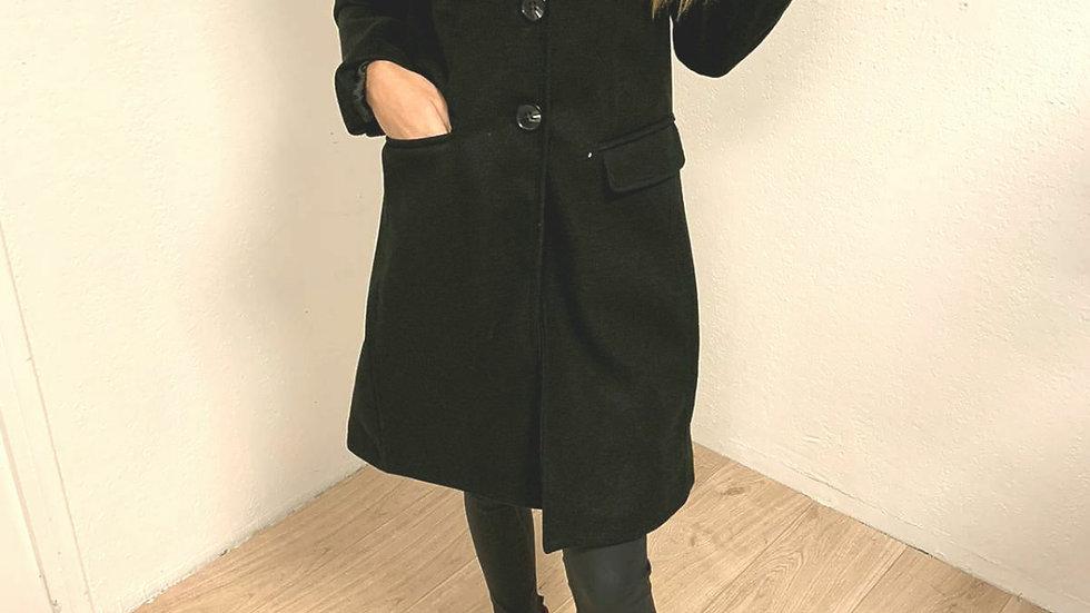 Manteau 60s black
