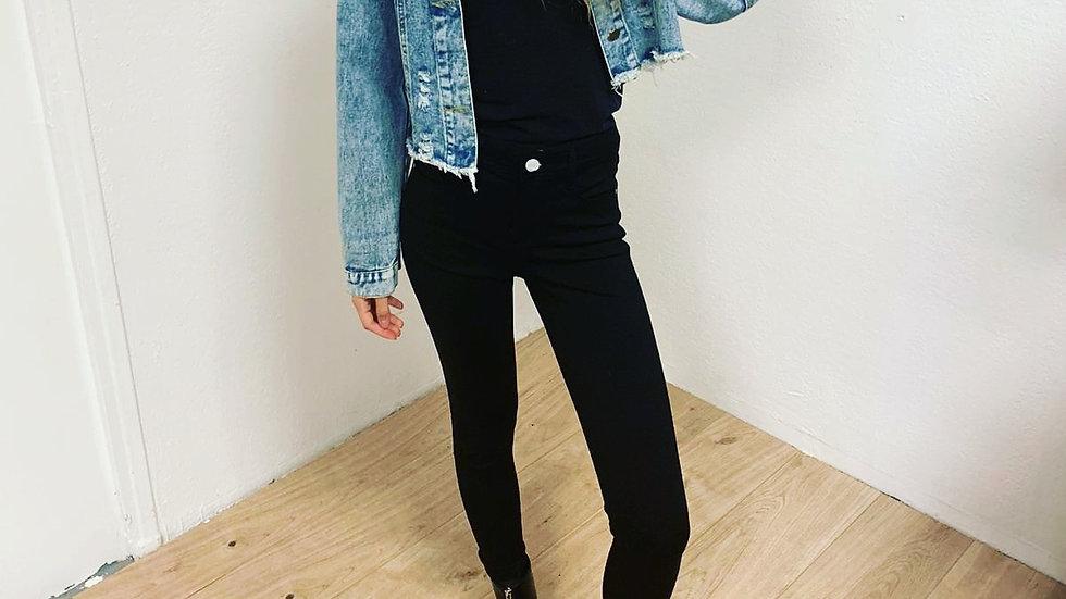 Veste jeans oversize