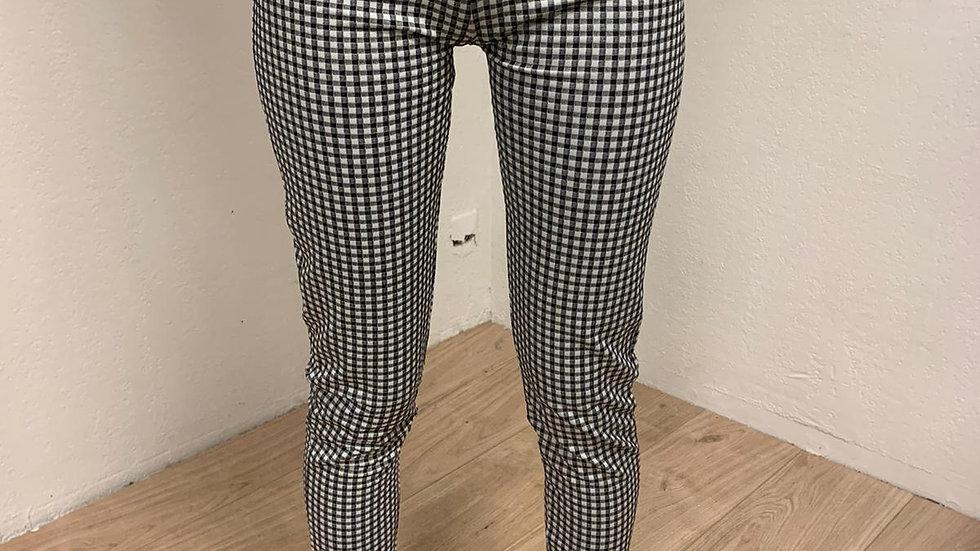 Pantalon rock black & White
