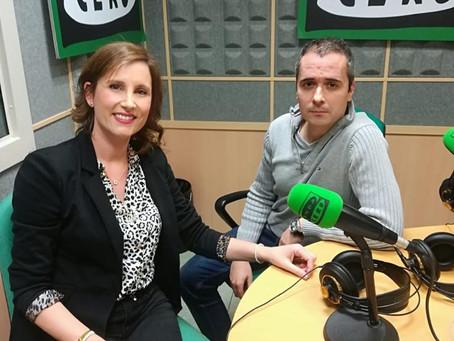 Lys García Vilaplana en Onda Cero Tarragona.