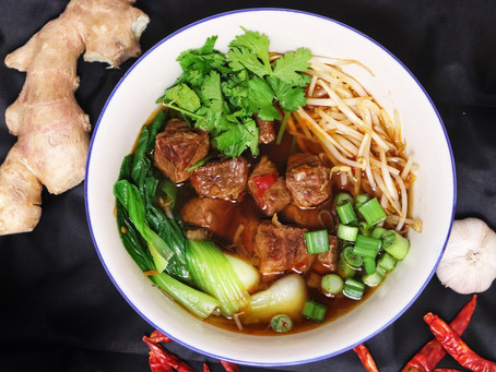 Instant Pot Chinese Braised Beef Soup