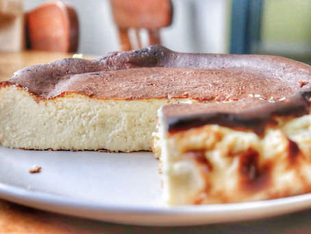 San Sebastián Keto Cheesecake