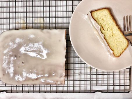 Glazed Vanilla Cake