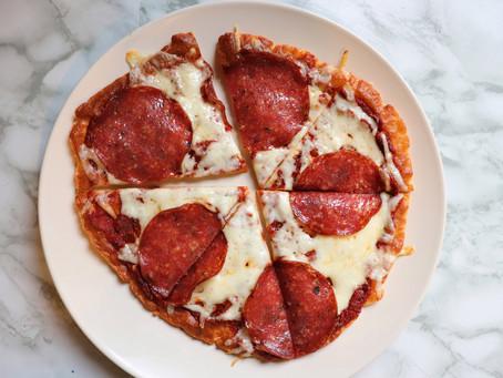 RedHotKeto PIZZA! (Fathead Dough Crust)