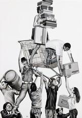 Off Balance - Shopping Raft