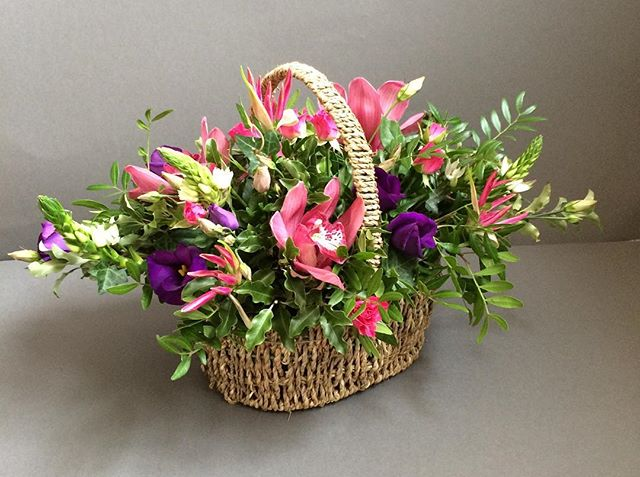 Basket arrangments.