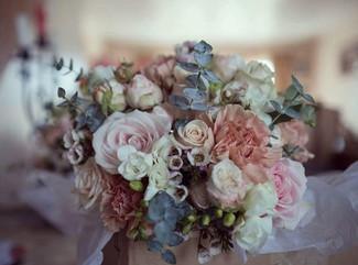 Vintage Style Bridal Bouquet