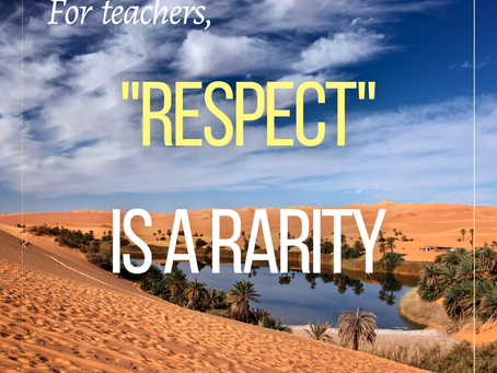 R E S P E C T: Teachers Need It, Andy Hargreaves Gets It