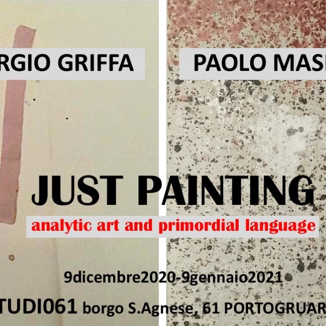 JUST PAINTING analytic art and primordial languages