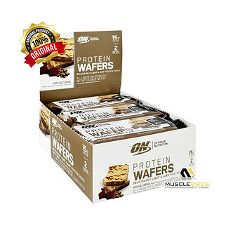 Optimum Nutrition Protein Wafers [1 Box / 9 Pack]