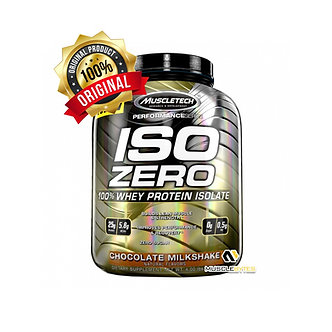 MuscleTech - ISO-ZERO [2 LBS / 28 Servings] Chocolate Milkshake