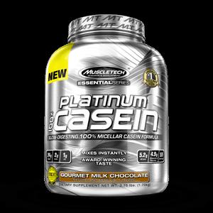 MuscleTech - Platinum 100% Casein [1.8 LBS / 27 Servings] Gourmet Milk Chocolate