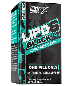 Nutrex Research - LIPO-6 BLACK HERS UC [60 Caps] Unflavored