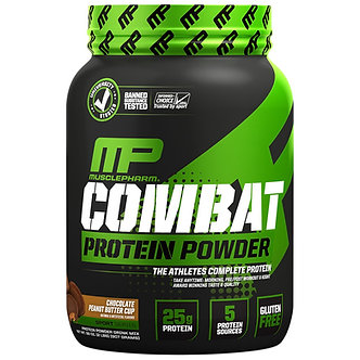 MusclePharm - Combat Protein [2 LBS / 26 Servings] Chocolate Peanut Butter Cup