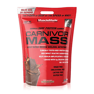 MUSCLE MEDS - Carnivor Mass [10 LBS]