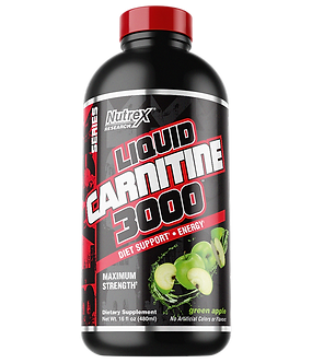 Nutrex Research - LIQUID CARNITINE 3000 [16 Servings] Green Apple