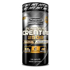MuscleTech - Platinum 100% Creatine 2500 [120 Servings] Unflavored