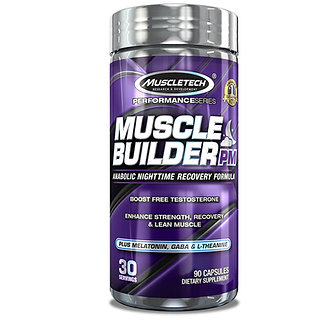 MuscleTech - Muscle Builder PM [30 Caps] Unflavored