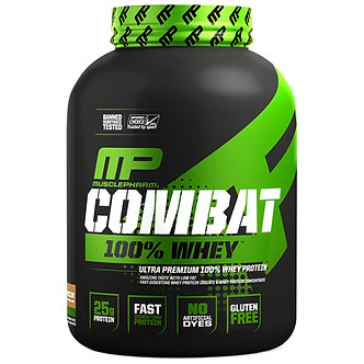 MusclePharm - Combat 100% Whey [5 LBS / 73 Servings] Cappuccino