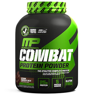 MusclePharm - Combat Protein [4 LBS / 48 Servings] Extreme Chocolate Milk