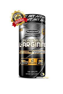 MuscleTech - Platinum 100% L-Arginine 100Caps