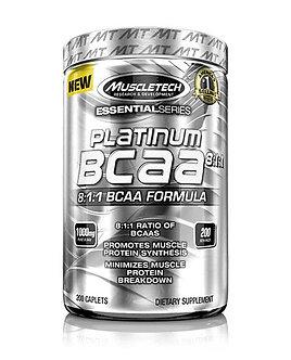 MuscleTech - Platinum BCAA 8:1:1 [200 Caps] Unflavored