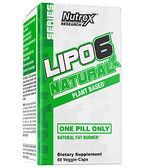 Nutrex Research - LIPO-6 NATURAL [60 Caps] Unflavored
