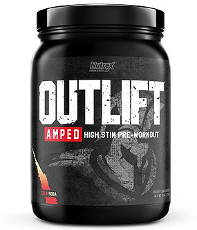 Nutrex Research - OUTLIFT AMPED [20 Servings] Cola Soda