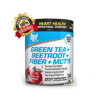 BPI - Green Tea + Beetroot + Fiber + MCTS [30 Servings]