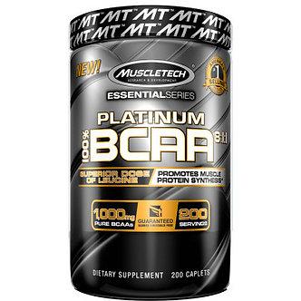 MuscleTech -Platinum 100% BCAA 8:1:1