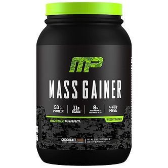 MusclePharm - MusclePharm Mass Gainer [3 LBS / 4+ Servings] Chocolate