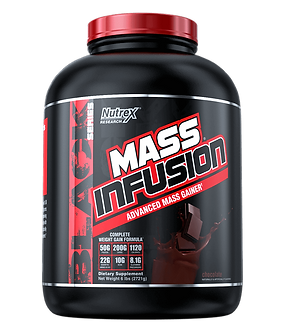 Nutrex Research - MASS INFUSION [6 LBS / 9 Servings] Chocolate